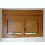 Instalación de persianas en Torrelodones. Cajón de persiana y lama térmica